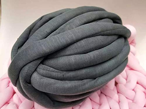 INKBLOO 1000g/Ball 100% Cored Cotton Yarn Washing Machine Cleaning DIY Hand Knitting Yarn Blanket Pet nest Carpet - Nest Fiber Ring