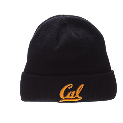 ZHATS Cal Berkeley Golden Bears Blue Cuff Beanie Hat - NCAA Cuffed Winter Knit Beanie Toque Cap