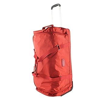 03a8aeefd8 JUMP Sac de voyage à roues Toledo Soft 72 cm Rouge: Amazon.fr: Vêtements et  accessoires