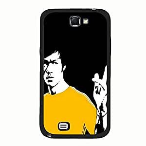 Different Bruce Lee Phone Case Cover for Samsung Galaxy Note 2 N7100 Bruce Lee Genine
