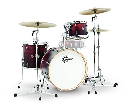 Gretsch Drums Gretsch CT1-J403-SAF Catalina Club 3 Piece Shell Pack 14x20 Bass, 8x12 Suspended, 14x14 Floor Tom Satin Antique Fade, inch ( ()