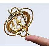 YAH Precision Gyroscope Metal Anti-Gravity Spinner Balance Toy Educational Gift Physics Education Kids Training