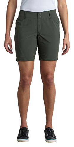Officio Shorts Ex Hiking (ExOfficio Women's Sol Cool Nomad Lightweight Travel Shorts, Nordic, Size 4)