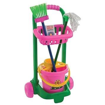 Kit de limpieza con carro infantil: Amazon.es: Juguetes y juegos