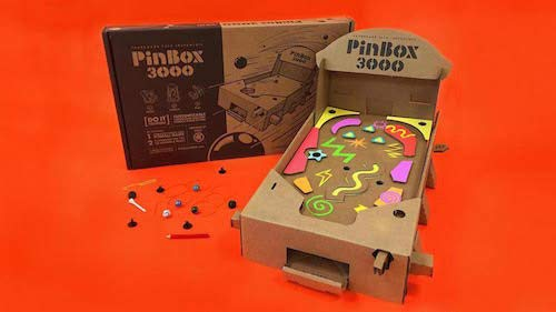 Cardboard Teck Instantute PinBox 3000 DIY Customizable Cardboard Make Your Own Pinball Machine Kit with No Tool Assembly by Cardboard Teck Instantute (Image #6)