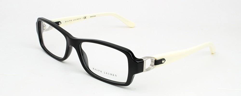 7bddaaea6fd8 Amazon.com: Ralph Lauren RL6107Q Eyeglasses-5001 Black-53mm: Shoes