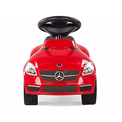 RASTAR Mercedes SLK 55 AMG Foot to Floor Ride On Red: Toys & Games