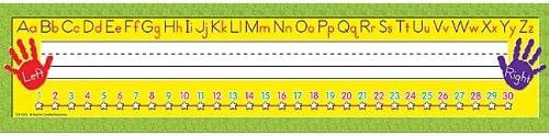 Teacher Created Resources Super Jumbo Right//Left Alphabet Name Plates
