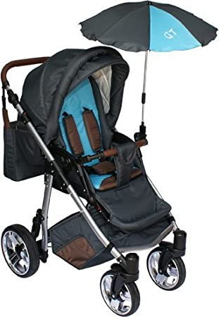 /Baby Pushchair Parasol with Universal Holder UV Protection 50/ Awning Universal Sun Umbrella for Pushchairs and Sport/