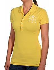 Ralph Lauren Women's Mesh Crown Equestrian Polo Shirt