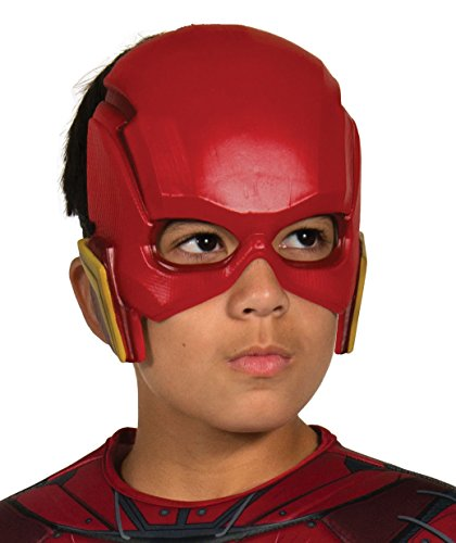 The Flash Mask (Rubie's Costume Boys Justice League Flash Half-Mask Costume, One Size)