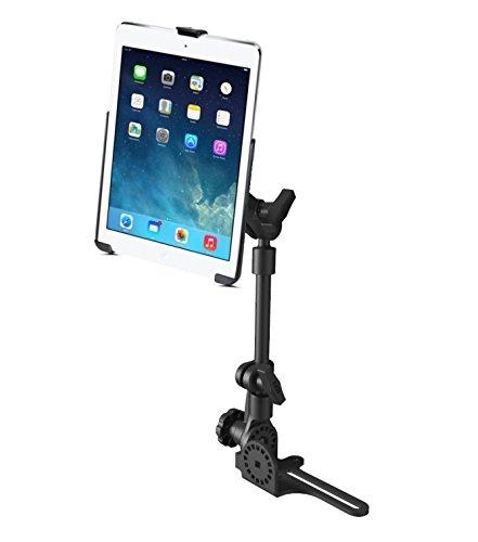 No-Drill RAM POD HD Car SUV Truck Mount Holder Kit fits Apple iPad 5 Apple iPad Air 1 & 2 & Pro 9.7