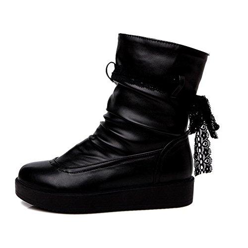 BalaMasa Abl09983, Plateforme Femme - Noir - Noir,