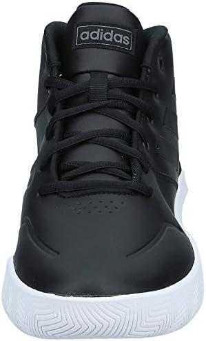 adidas Ownthegame, Scarpe Sportive Uomo, Negbás/Negbás/Nocmét, 35 EU