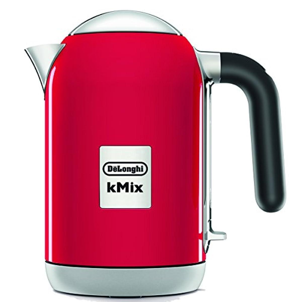 [해외] 드롱기(De'Longhi) 전기 주전자(케틀.kettle) 슈퍼이시 레드 ZJX650J-RD