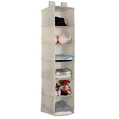 6 shelf closet organizer - 2