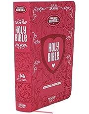 ICB, Tommy Nelson's Brave Girls Devotional Bible, Leathersoft, Pink: International Children's Bible