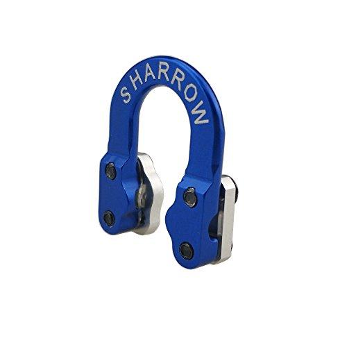 Archery D Loop Metal D ring buckle rope Ulimate Hunting D-Loop (BLUE)