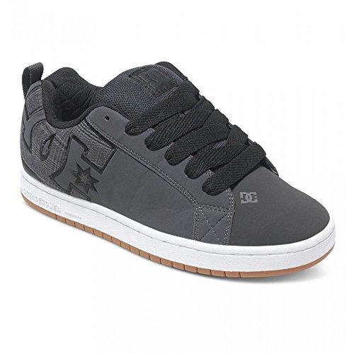 dc-court-graffik-se-low-skate-sneakers-men-shoes-grey-black-300927-size-8-new