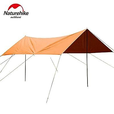 Abri soleil d'épaisseur de tissu Oxford imperméable extérieure auvent Parasol Camping pour tentes Car Cover Couvercle étanche à l'abri de pêche
