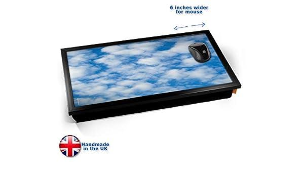 Blue Sky Computer Laptop Tray Cojín Bandeja para Portátil: Amazon ...
