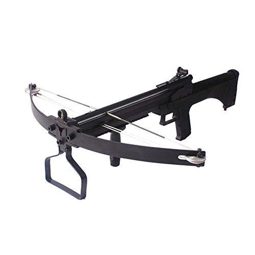 Junxing Hunting Crossbow and Arrow Set Multifunctional High Accuracy Compound Crossbow For Hunting (Black)
