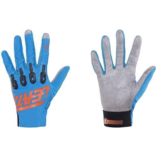 9da119a7d 60%OFF Leatt DBX 3.0 Lite Adult BMX Bike Gloves - Blue Orange ...
