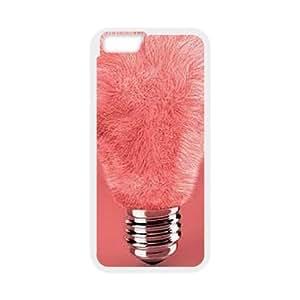 "ZK-SXH - Cute Light bulb Personalized Phone Case for iPhone6 4.7"", Cute Light bulb Customized Cover Case"
