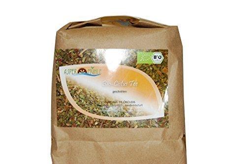 Aspermuehle Organic Cistus Incanus, Rockrose Herb Cut 500g naturwaren-niederrhein GmbH