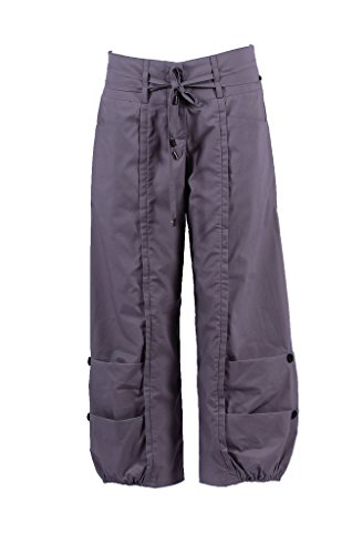 Lightweight Cotton Cargo Capri Pant - 5