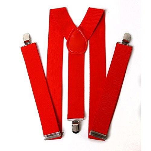 bretelle regolabile Accessorystation® rosso su indietro Unisex cinturino nero XRq1q5vr