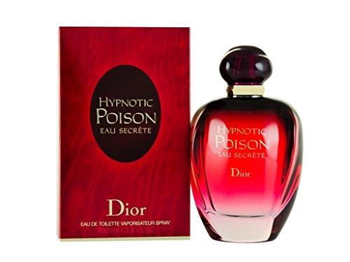 Christian Dior Eau de Toilette Spray, Hypnotic Poison Eau Secrete, 3.4 Ounce.