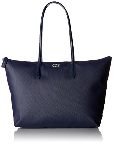 Lacoste L.12.12 Tote Bag, Navy Blue/Darkness-Pegasus from Lacoste