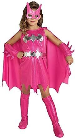 Rubie's Pink Batgirl Child's Costume, Medium