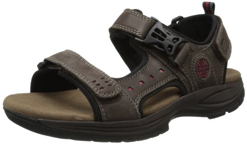 (Dunham Men's Nolan-Dun Fisherman Sandal,Brown,13 4E US)