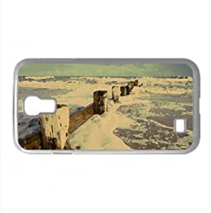 Destroyed Pier Watercolor style Cover Samsung Galaxy S4 I9500 Case (Beach Watercolor style Cover Samsung Galaxy S4 I9500 Case)