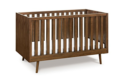 Ubabub Nifty Timber 3-in-1 Crib, Walnut