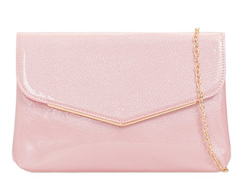 Prom Evening 454 Pink Body Clutch Bag LeahWard Cross Bags Party Women's Clutch Purse PwxvqaY