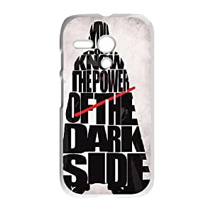 Darth Vader Power Of The Darkside Motorola G Cell Phone Case White phone component RT_225685