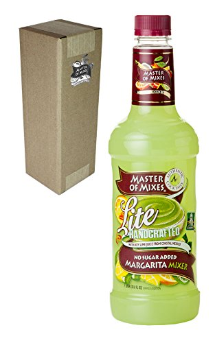 Master of Mixes Lite Margarita Mixer No Sugar Added, 33.8 fl oz