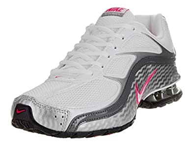 Amazon.com | Nike Women's Reax Run 5, Running, White/Grey