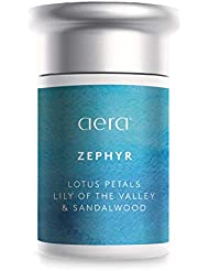 Zephyr Scented Home Fragrance, Hypoallergenic Formula w/Notes of Lotus Petals, Lily of the Valley - Schedule Using App With Aera Smart 2.0 Diffusers - State Of The Art Air Freshener Technology