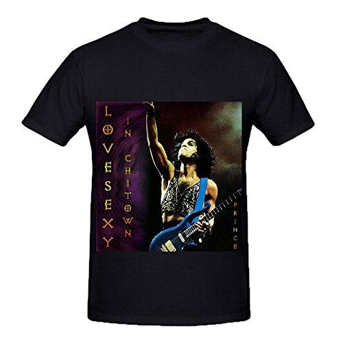 Prince Emancipation Tour 80s Mens O Neck Custom Tee Shirts