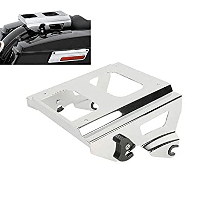 Detachable Solo Tour-pak Mounting Rack For Harley Road Glide King 2009-2013 Fltr Carrier Systems Automobiles & Motorcycles