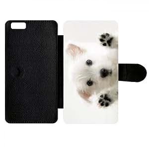 Funda compatible con iphone 6 plus, diseño de perro