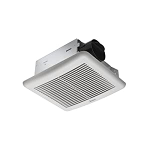 Delta Electronics SLM50 Breez Slim Ventilation Fans, 50 CFM Single Speed by Delta Products Corporation