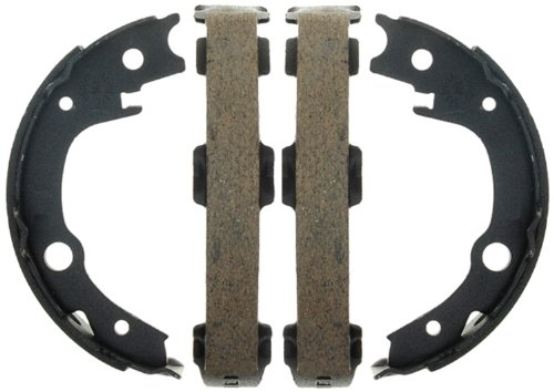 ACDelco 17796B Professional Bonded Rear Parking Brake Shoe (Scion Brake Shoe Set)