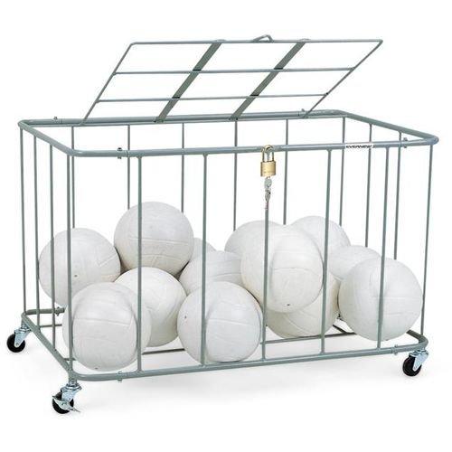 エバニュー ボール整理カゴ 角-5フタ付 EKE238