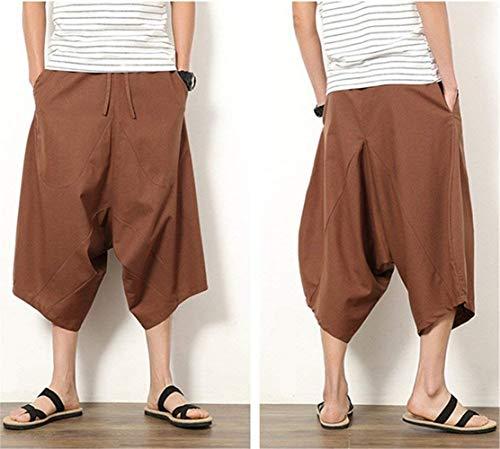 Vêtements Café Sarouel Court Pantalons De 7 Occasionnels Lannister Pour Fête Décontracté Unie Pantalon Garçons 8 Couleur Fashion Hommes Locker U6w5qAv