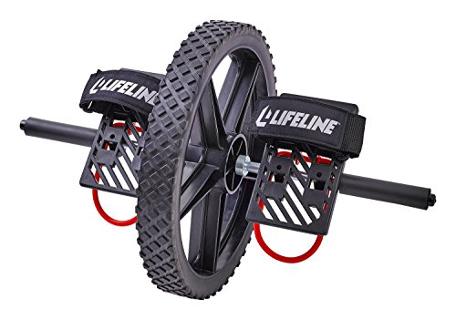 Lifeline Power Wheel for Ultimate Core Training Simultaneously Works up to 20 Muscles in Your Entire Body
